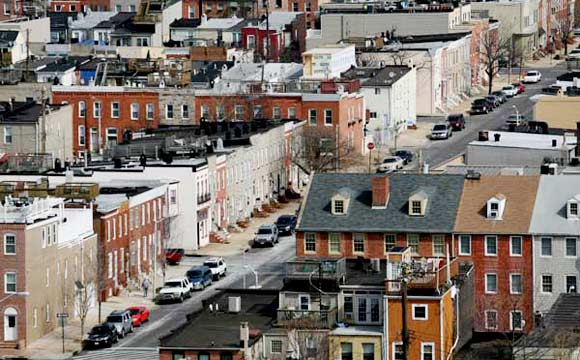 The Canton neighborhood in Baltimore City - Arianne Teeple