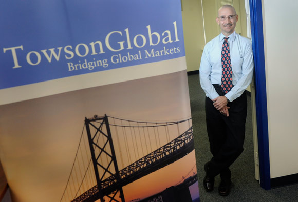 Clay Hickson, executive director of TowsonGlobal Business Incubator