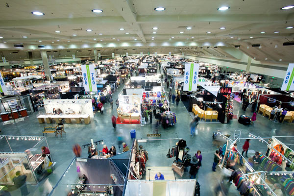 step out for the american craft council show in baltimore