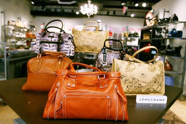 Photo Handbags In The City